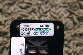 USED RV ALADDIN SWITCH MOTORHOME PARTS FOR SALE