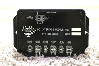 USED RV ALADDIN 38040036 DC INTERFACE MODULE MOTORHOME PARTS FOR SALE