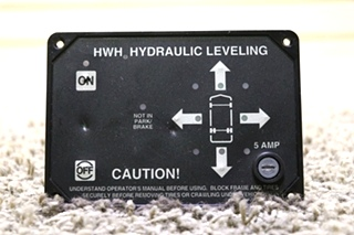USED HWH HYDRAULIC LEVELING AP9755 TOUCH PAD RV PARTS FOR SALE