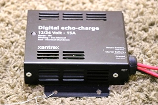 USED 82-0123-01 RV XANTREX DIGITAL ECHO-CHARGE MOTORHOME PARTS FOR SALE