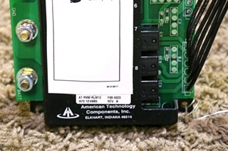 USED AMERICAN TECHNOLOGY COMPONENTS (A.T.C) F88-0023 MOTORHOME AT-RVM-RLM12 RELAY MODULE RV PARTS FOR SALE