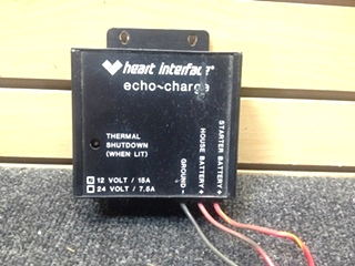 USED RV/MOTORHOME HEART INTERFACE ECHO-CHARGE | 12V/15A