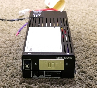 USED DIMENSIONS UNLIMITED, INC WIN-12/300T INVERTER RV PARTS FOR SALE