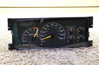 USED 16252197 CHEVROLET MOTORHOME DASH CLUSTER RV PARTS FOR SALE