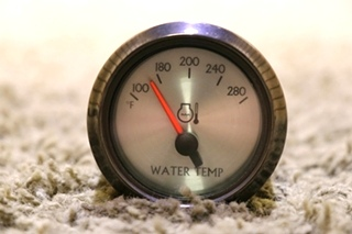 USED 945907 RV WATER TEMPERATURE GAUGE MOTORHOME PARTS FOR SALE