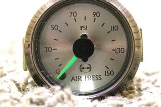 USED AIR PRESSURE 945479 RV DASH GAUGE MOTORHOME PARTS FOR SALE