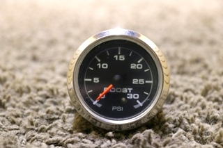USED MOTORHOME BOOST PSI 946072 DASH GAUGE RV PARTS FOR SALE
