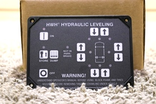 RV AP31351 HWH HYDRAULIC LEVELING CONTROL TOUCH PAD MOTORHOME PARTS FOR SALE