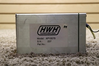 USED AP10079 RV HWH LEVELING CONTROL BOX MOTORHOME PARTS FOR SALE