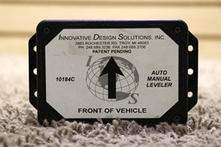 USED RV 10184C INNOVATIVE DESIGN SOLUTIONS AUTO MANUAL LEVELER MOTORHOME PARTS FOR SALE
