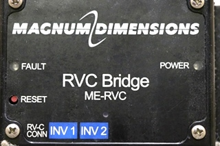 USED RV MAGNUM DIMENSIONS RVC BRIDGE ME-RVC MOTORHOME PARTS FOR SALE