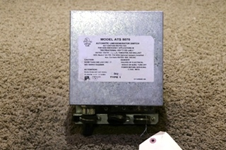 USED MOTORHOME AUTOMATIC LINE / GENERATOR SWITCH ATS 5070 RV PARTS FOR SALE