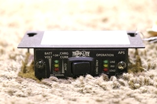 USED RV TRIPP-LITE APS INVERTER CHARGER REMOTE MOTORHOME PARTS FOR SALE