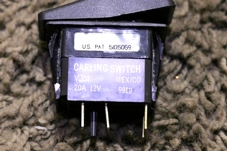 USED MOTORHOME BATTERY DASH SWITCH RV PARTS FOR SALE