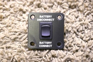 USED RV BATTERY DISCONNECT / CONNECT SWITCH MOTORHOME PARTS FOR SALE