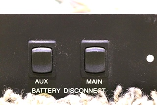 USED L9224DM AUX / MAIN RV BATTERY DISCONNECT SWITCHES MOTORHOME PARTS FOR SALE