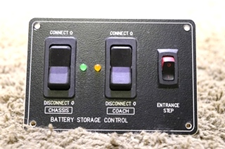 USED FW01041 BATTERY STORAGE CONRTOL BATTERY DISCONNECT SWITCH PANEL MOTORHOME PARTS SALE