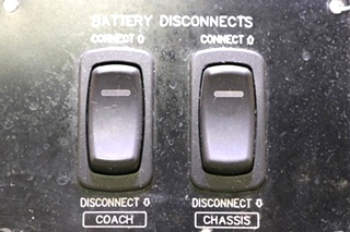 USED RV GS01002 COACH / CHASSIS BATTERY DISCONNECT SWITCHES MOTORHOME PARTS FOR SALE