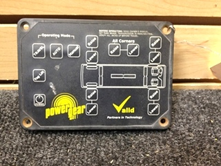 USED RV/MOTORHOME POWER GEAR/VALID MANUFACTURING LEVELING CONTROLLER PN: VTL02A009-1