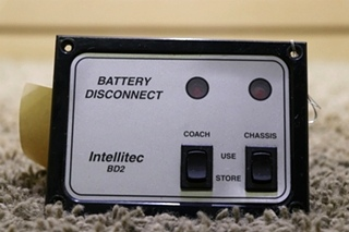 USED BATTERY DISCONNECT INTELLITEC BD2 01-00066-006 RV PARTS FOR SALE