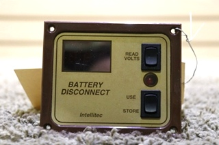 INTELLITEC USED RV BATTERY DISCONNECT SWITCH PANEL MOTORHOME PARTS FOR SALE