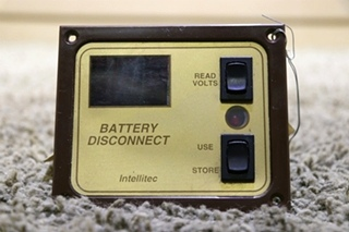 USED RV INTELLITEC BATTERY DISCONNECT SWITCHES 01-00066-001 MOTORHOME PARTS FOR SALE