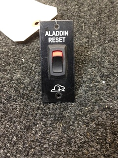USED RV/MOTORHOME RV WALL MOUNT BEAVER ALADDIN RESET SWITCH PANEL