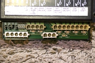 USED RV 6 RELAY OUTPUT / 4 INPUT MODULE 00-00917-416 PMC I/O MODULE 12 VOLT BY INTELLITEC MOTORHOME PARTS FOR SALE