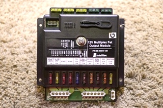 USED RV INTELLITEC 00-00844-120 12V MULTIPLEX FET OUTPUT MODULE MOTORHOME PARTS FOR SALE