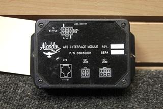 USED RV/MOTORHOME ALADDIN ATS INTERFACE MODULE 38050001 SN: 0447 REV: 4.00