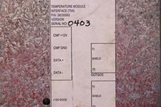 USED RV ALADDIN TEMPERATURE MODULE INTERFACE (TMI) P/N: 38030060 MOTORHOME PARTS FOR SALE