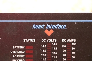 USED RV HEART INTERFACE FREEDOM REMOTE PANEL MOTORHOME PARTS FOR SALE