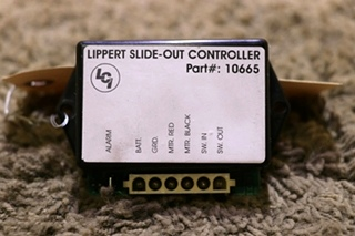 USED 10665 LIPPERT SLIDE-OUT CONTROLLER RV PARTS FOR SALE