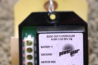 USED 140-1163 RV POWER GEAR SLIDE OUT CONTROLLER MOTORHOME PARTS FOR SALE