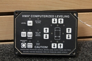 USED RV/MOTORHOME HWH CORP. COMPUTERIZED LEVELING CONTROLLER PN: AP24249