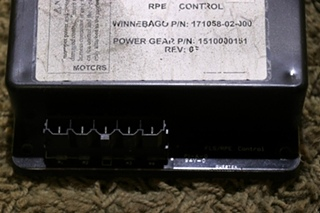 USED 1510000151 MOTORHOME POWER GEAR RPE CONTROL BOARD RV PARTS FOR SALE