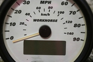 USED WORKHORSE CHASSIS RV 109709-1 SPEEDOMETER MOTORHOME PARTS FOR SALE