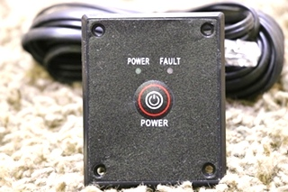 USED MOTORHOME PURE SINE WAVE INVERTER REMOTE PANEL RV PARTS FOR SALE