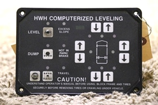 AP6975 HWH COMPUTERIZED LEVELING TOUCH PAD USED RV PARTS FOR SALE