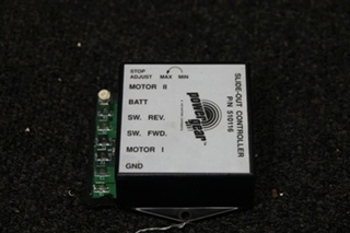 USED RV/MOTORHOME POWER GEAR PG SLIDE OUT CONTROL BOARD PN: 510116  **out of stock**