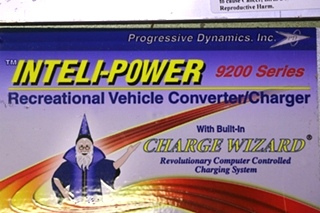 INTELLI-POWER 9200 SERIES POWER CONVERTER MODEL: PD9245C RV PARTS FOR SALE
