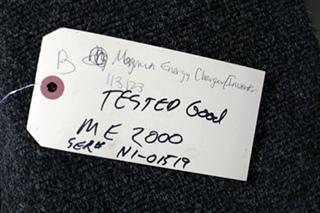 USED RV/MOTORHOME MAGNUM ENERGY 2000W INVERTER MODEL: ME-2000 SN: N1-01519