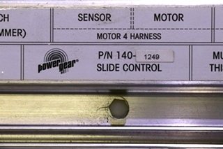 USED POWER GEAR 140-1249 SLIDE CONTROL MOTORHOME PARTS FOR SALE