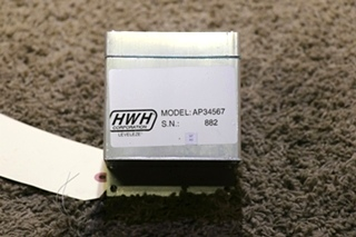 USED AP34567 HWH LEVELING CONTROL BOX RV PARTS FOR SALE