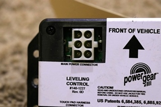 USED POWER GEAR 140-1227 LEVELING CONTROL BOARD RV PARTS FOR SALE