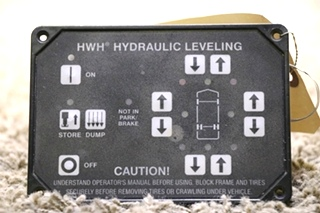 USEDE RV HWH HYDRAULIC LEVELING TOUCH PAD AP31351 FOR SALE