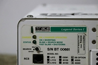 USED RV L1512 TRACE ENGINEERING LEGEND SERIES I INVERTER/CHARGER FOR SALE