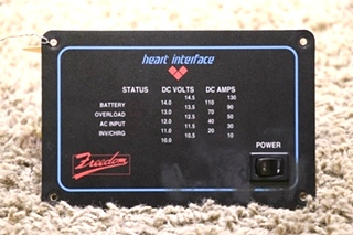 USED RV HEART INTERFACE FREEDOM REMOTE PANEL FOR SALE