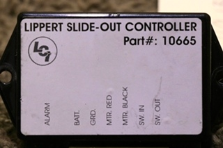 USED LIPPERT SLIDE OUT CONTROLLER 10665 MOTORHOME PARTS FOR SALE
