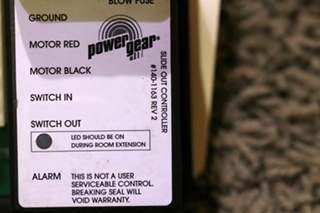 USED RV POWER GEAR SLIDE-OUT CONTROLLER 140-1163 FOR SALE